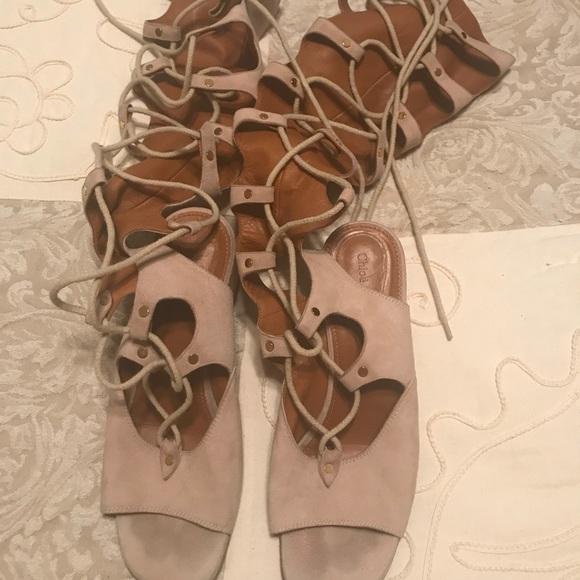 Chloe Shoes   Chloe Gladiator Sandal